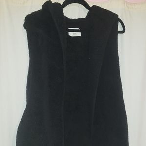 Faux Wool Sweater Vest
